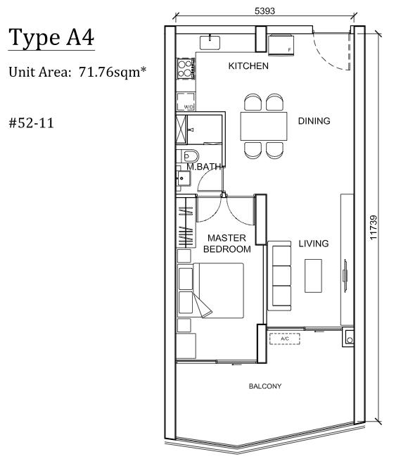 The Peak Cambodia Floor Plan A4