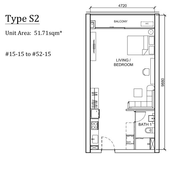 The Peak Cambodia Floor Plan S2